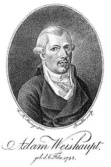 Picture of Adam Weishaupt