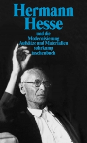 Pic: Book cover showing Hermann Hesse