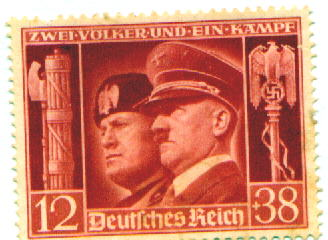 Photo of German stamp.