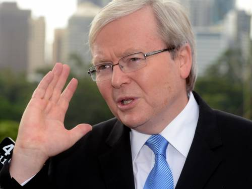 Picture: Kevin Rudd