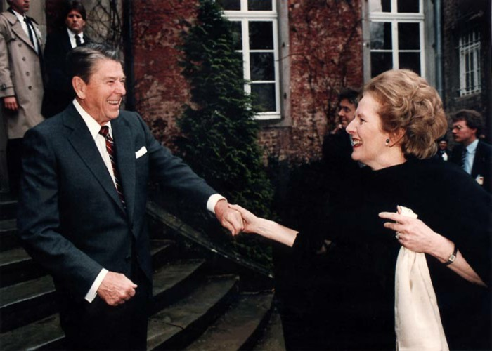 Picture: R Reagan & M Thatcher